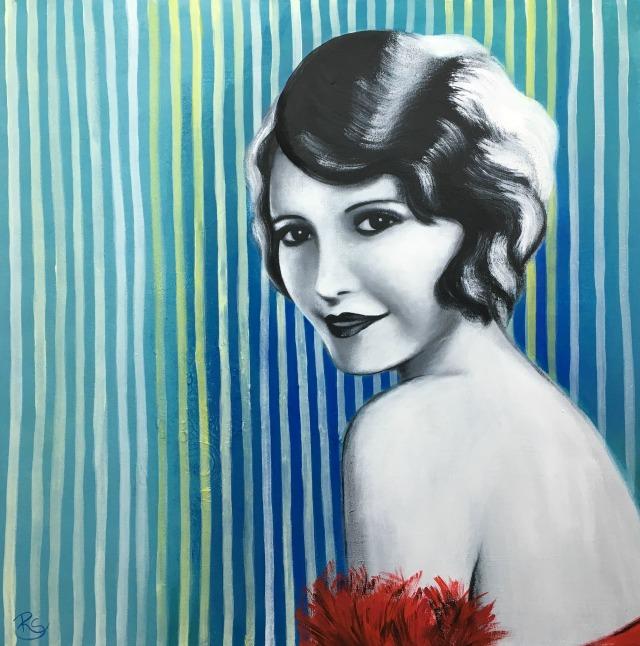 Acryl-Bild Beth von Rachel Fischlin