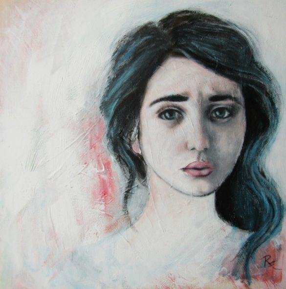 Acryl-Bild Brave Tochter von Rachel Fischlin