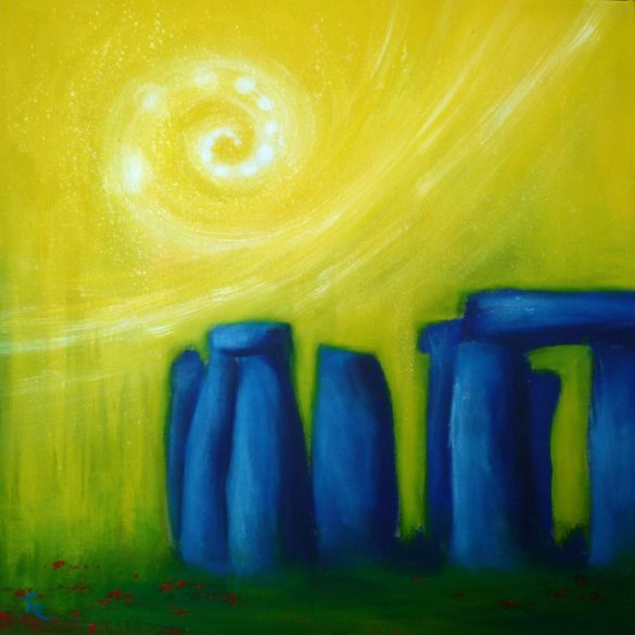 Acryl-Bild Portal von Rachel Fischlin