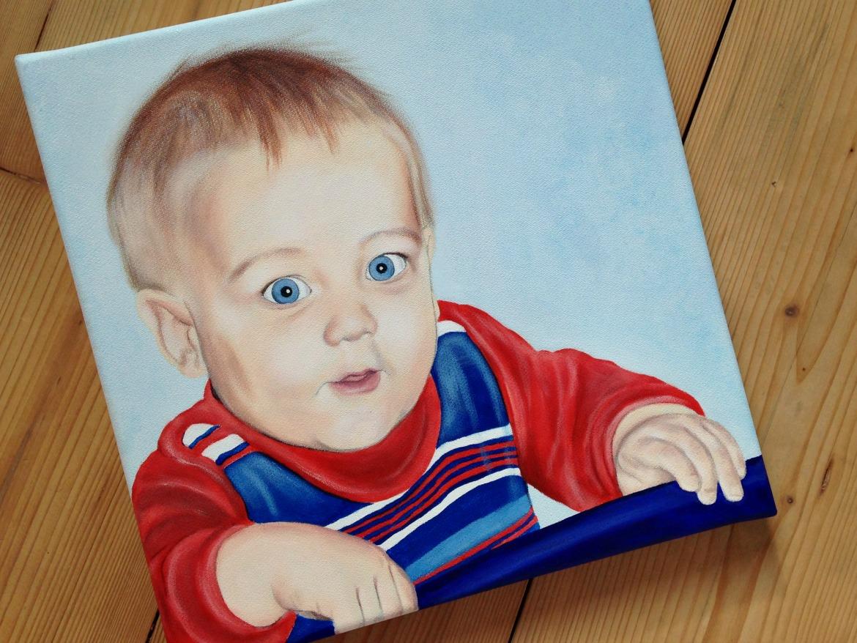 Acryl Portrait Baby