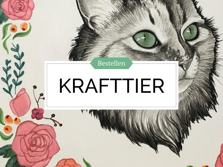 Krafttier Haustier Tier Bild in Acryl bestellen von Rachel Fischlin