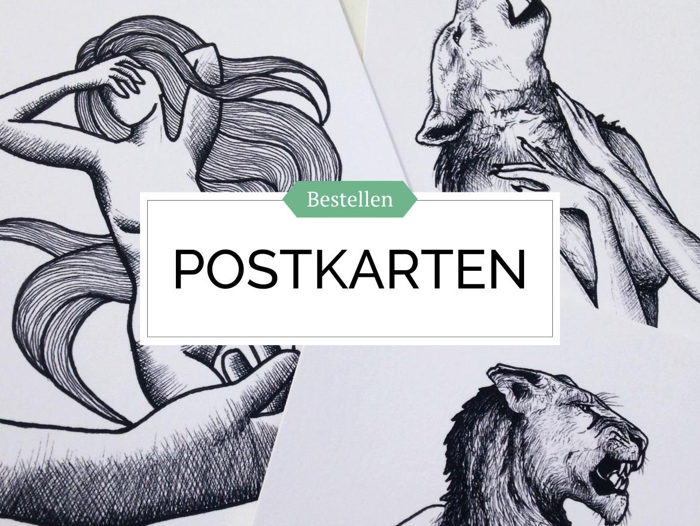 Kunst Postkarten bestellen von Rachel Fischlin